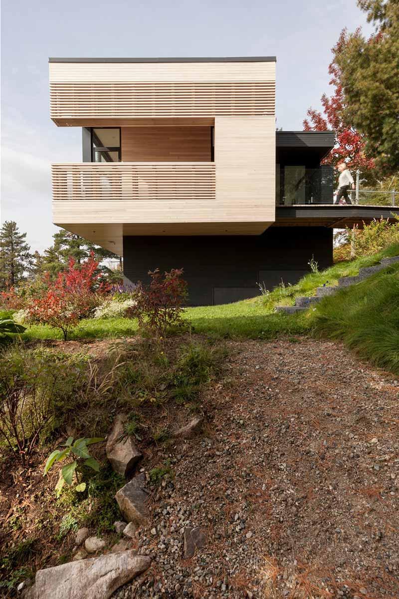 cliffside home side design aca - Residence Le Nid