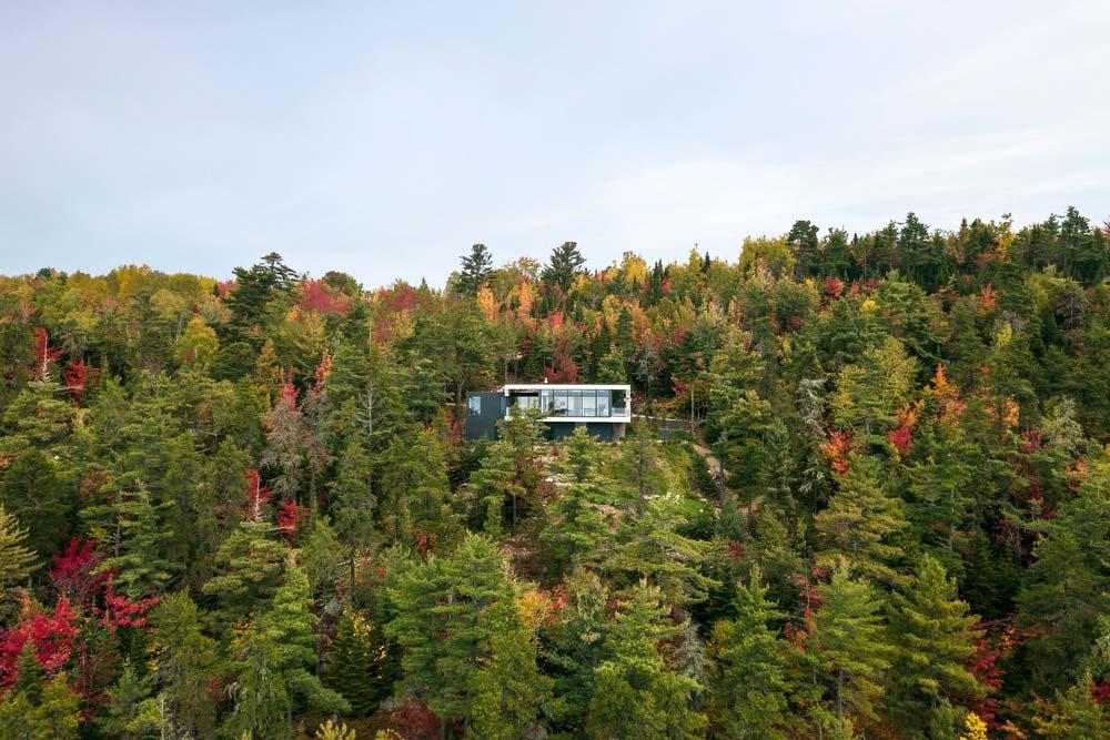 cliffside house design aca - Residence Le Nid