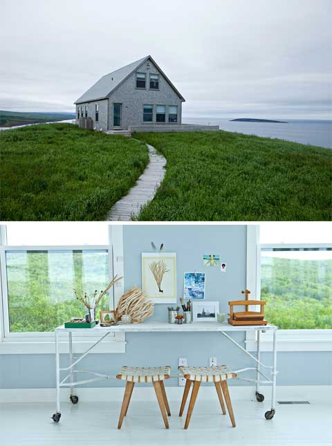Coastal Hilltop Cottage: Nova Scotia Charm - Coastal Homes, Modern ...