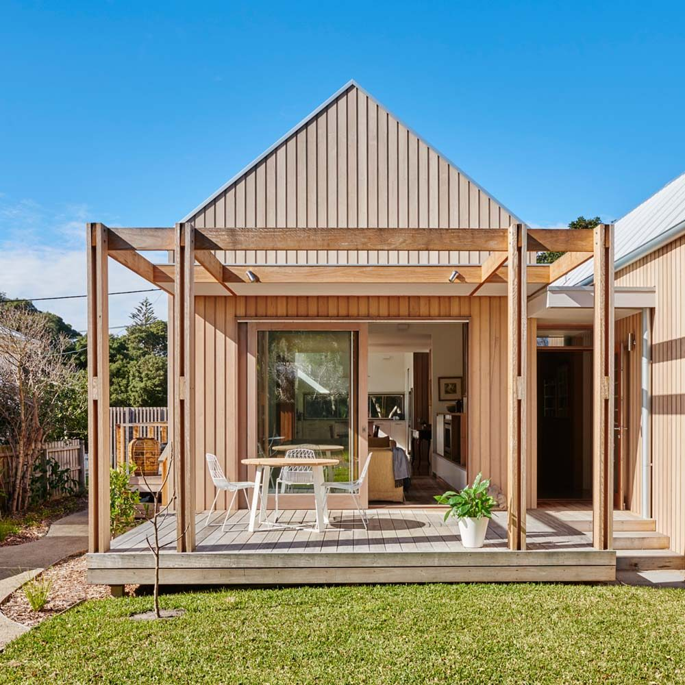 coastal gable house deck design 1000x1000 - Point Lonsdale