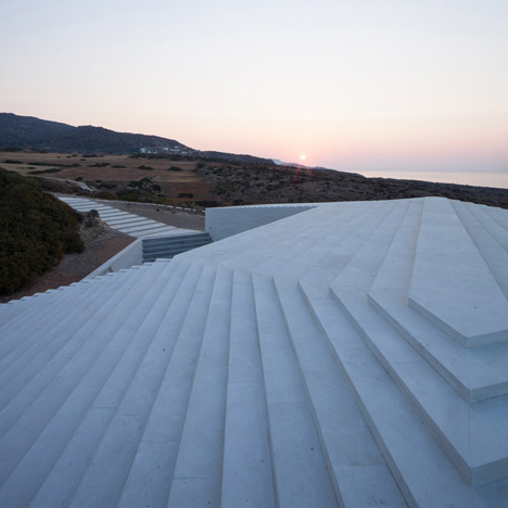 coastal home greece vnc 10 - VNC House:  following the slope of the land