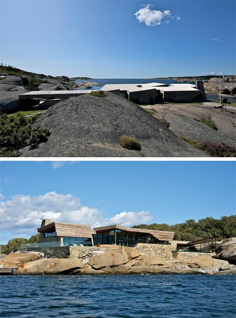 coastal seaside home rock 5 - Rock House: A Luxurious Shelter Among the stones