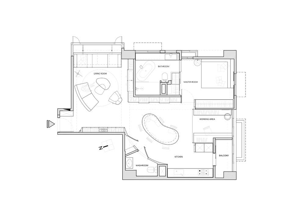 colorful home interior plan wd - Vivid Color