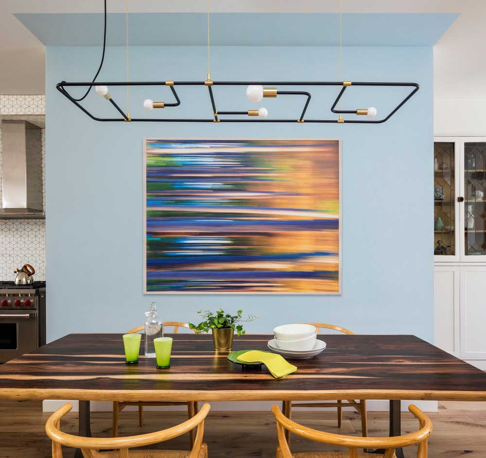 colorful interior design dining bfdo - Crown Heights Brownstone