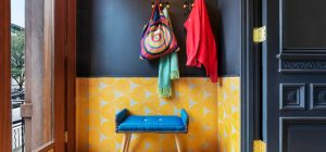 colorful interior design entry bfdo 300x140 - Crown Heights Brownstone