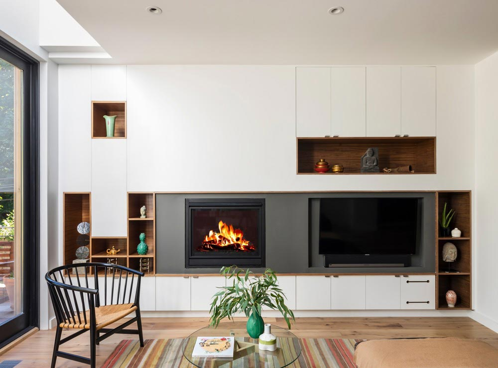 colorful interior design fireplace bfdo - Crown Heights Brownstone