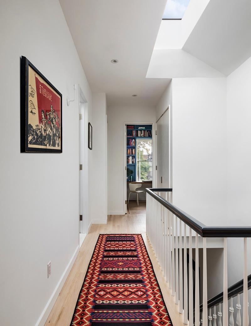 colorful interior design hall bfdo - Crown Heights Brownstone