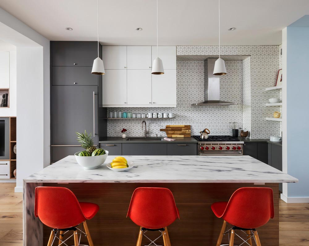 colorful interior design kitchen bfdo - Crown Heights Brownstone