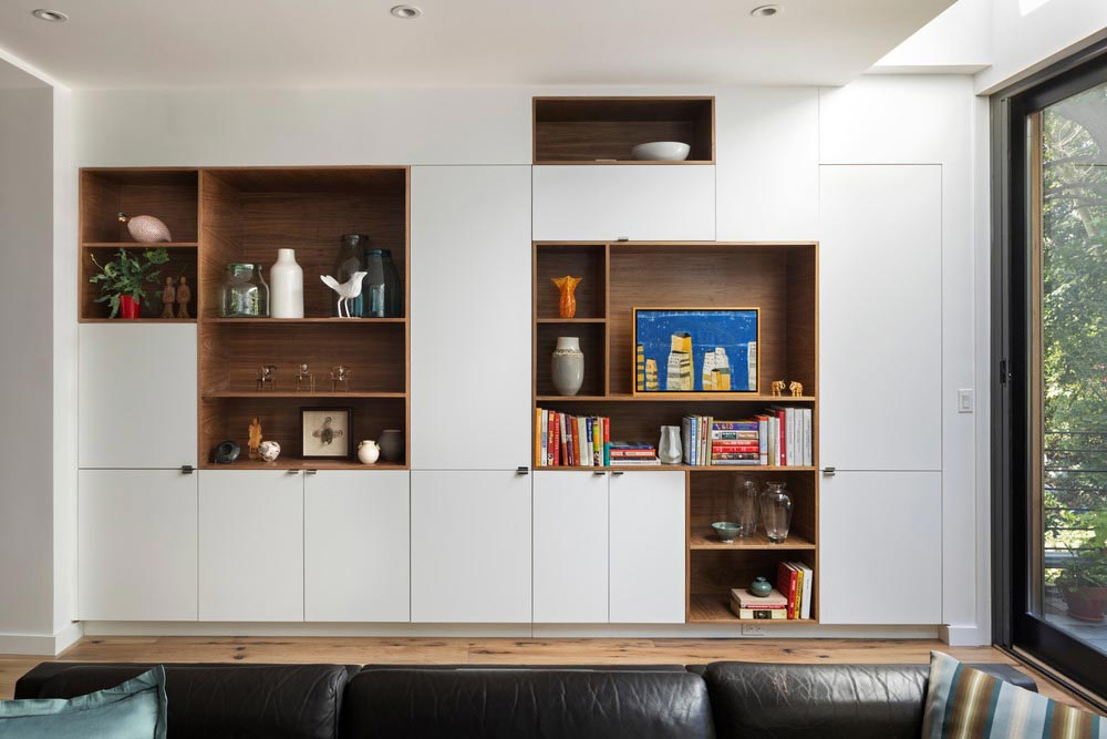 colorful interior design storage bfdo - Crown Heights Brownstone
