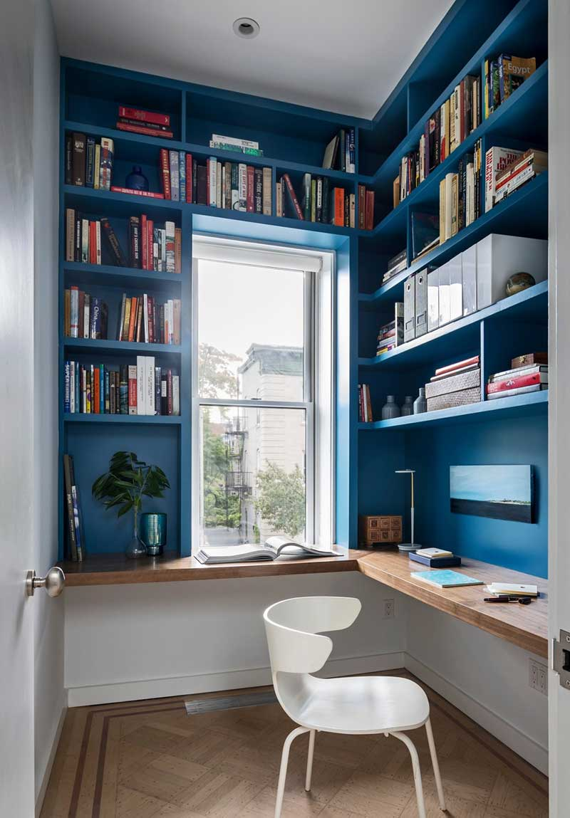 colorful interior design study bfdo - Crown Heights Brownstone