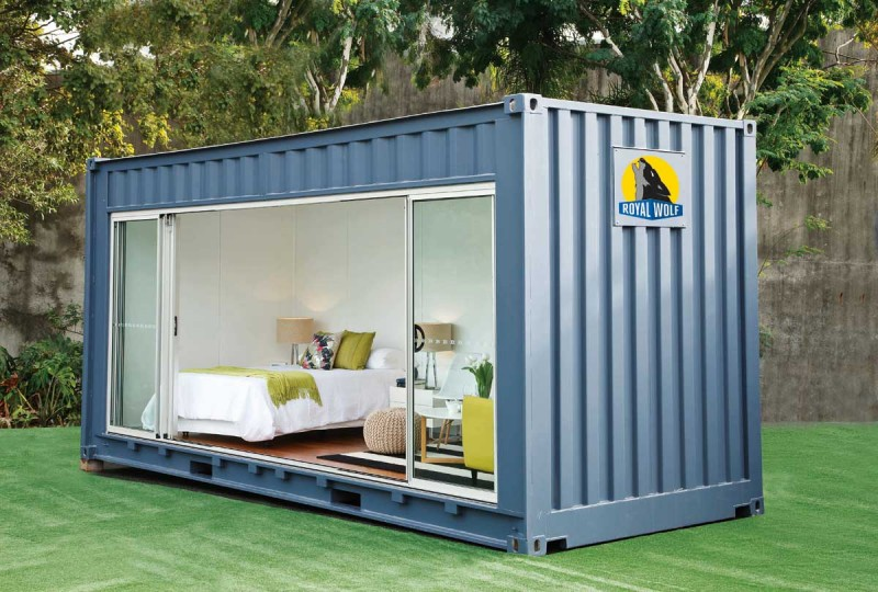 container guestroom rw 800x540 - Royal Wolf Outdoor Room