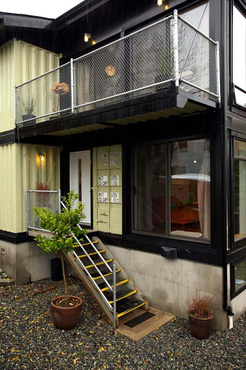 Zigloo Domestique A Modern Family Container Home