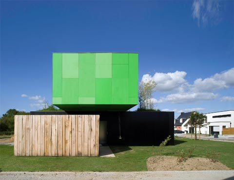 container home crossbox 8 - Crossbox House: Cross Shape Container Home