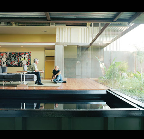 modern 3,000 sq. ft. Shipping container home in downtown LA
