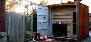 container sauna box 300x140 - Sauna Box: shipping container for sweaty sessions