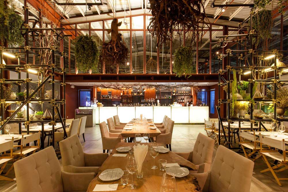 Restaurant Design Meets Botanical Warehouse In Bangkok