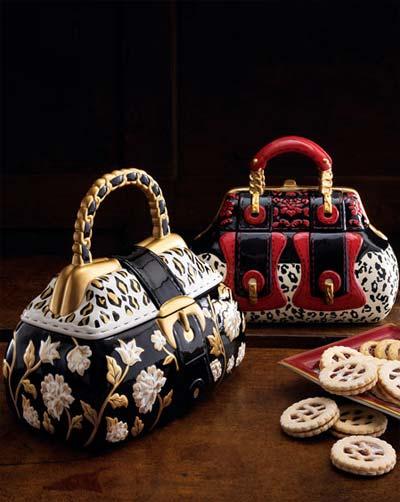 cookie jars handbag 2 - Handbag Cookie Jars: Munch Bag