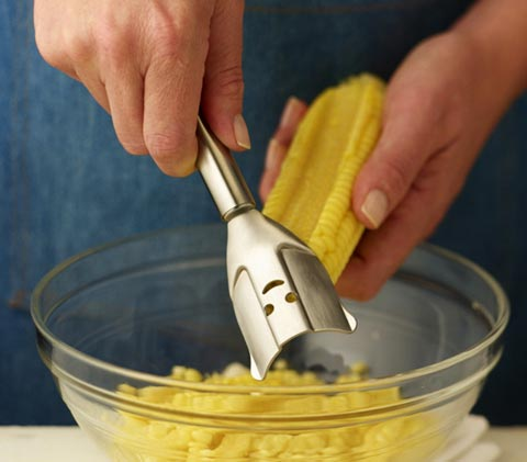 corn zipper kuhnrikon2 - Kuhn Rikon Corn Zipper: an effective kitchen gadget