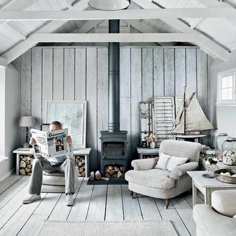 Etonnant Converted Loft In Cornwall: Seaside Patina