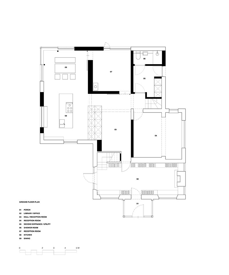 cottage extension design plan pca - Island Cottage Extension