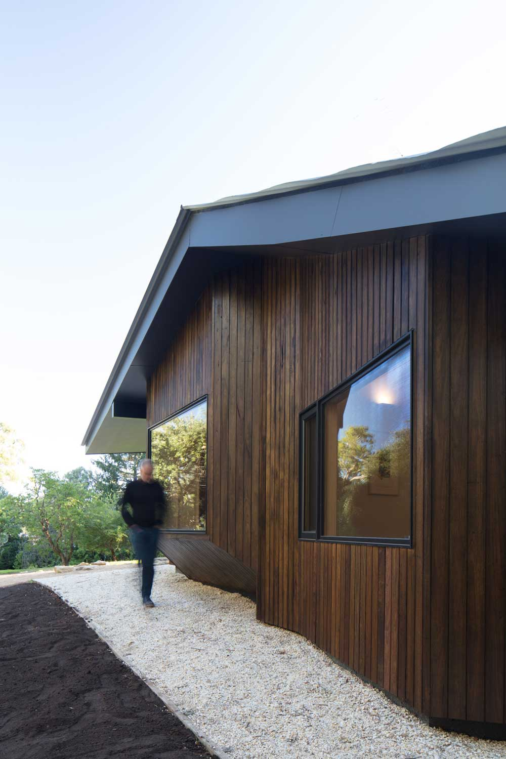 cottage modern extension mrtn 1 - Shadow Cottage Daylesford