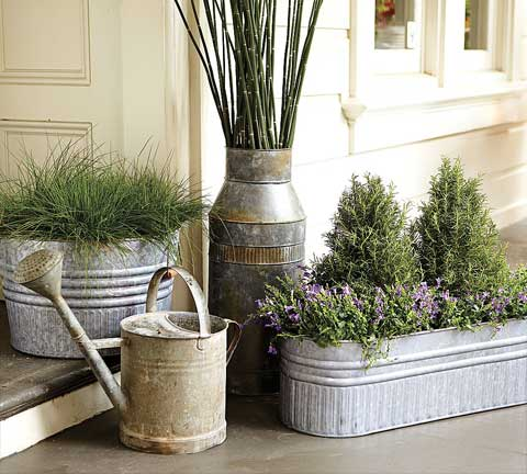 Country cottage style home accessories