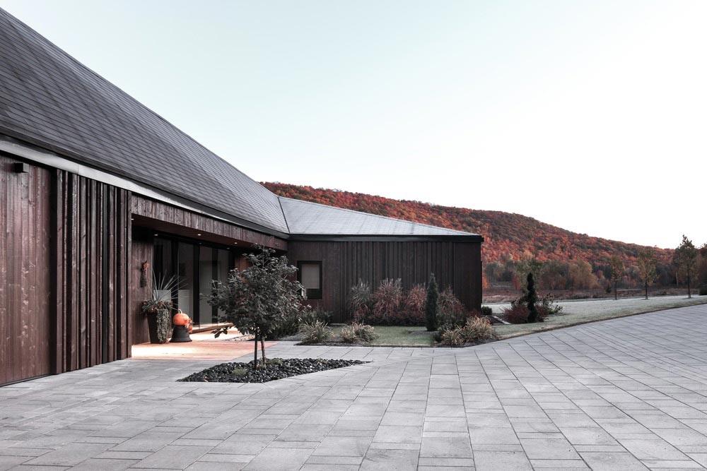 country house facade design cma - Vallee du Parc Residence