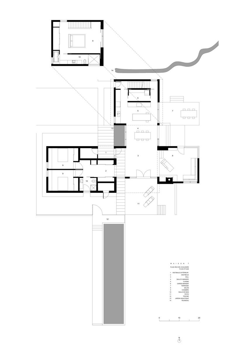 Modern Home Nda By No 555 Architectural Design Office: Modern Architecture