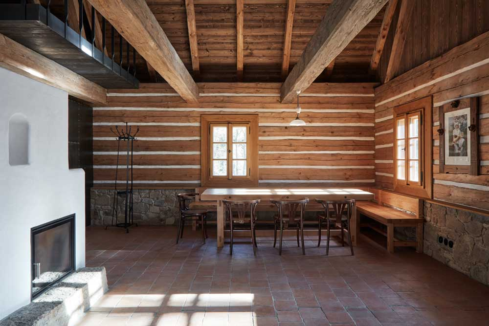 country house renovation dining - Country House in South Bohemia