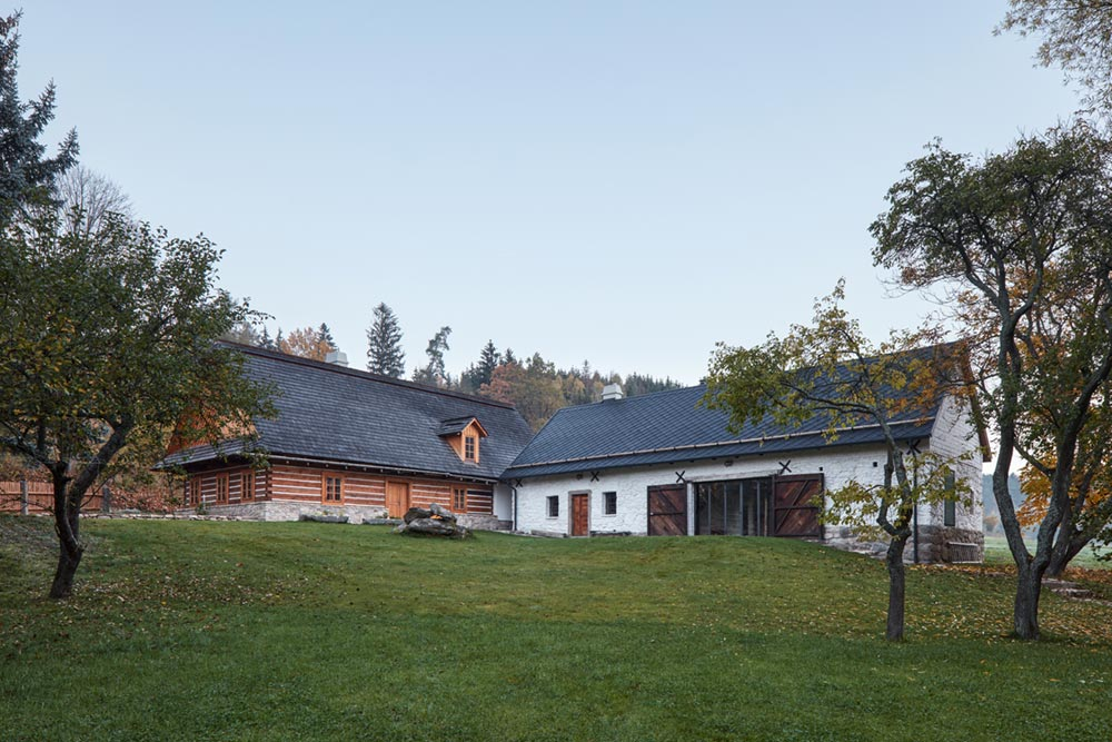 country house renovation lm - Country House in South Bohemia