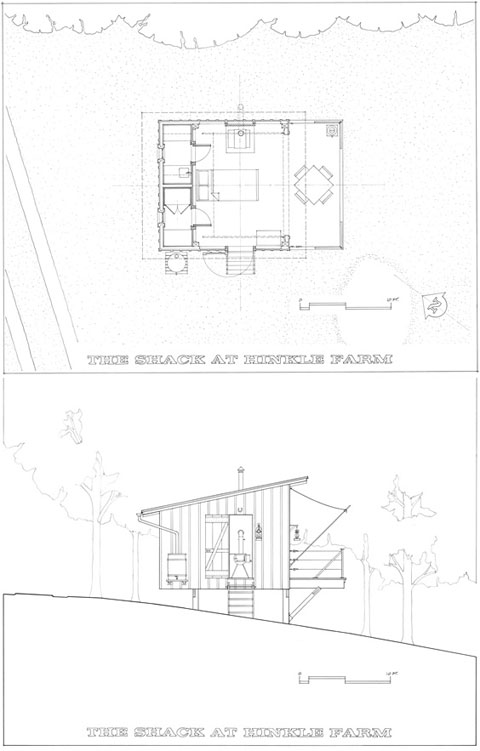 countryside cabin plan hinkle - The Shack at Hinkle Farm: Countryside Retreat
