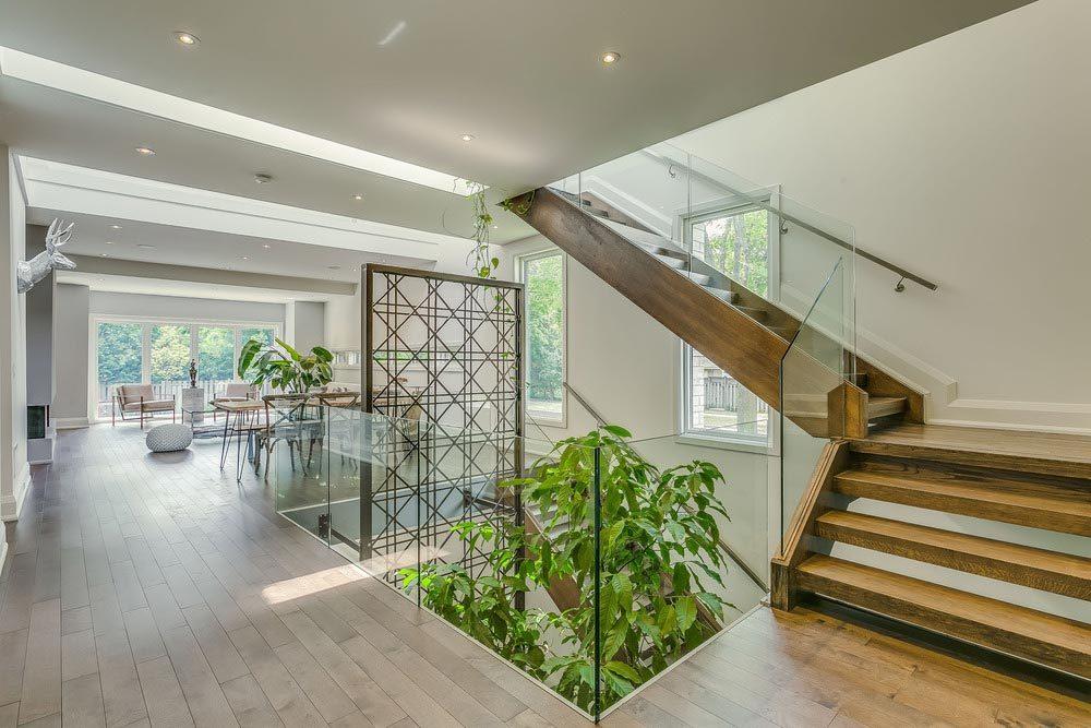 courtyard garden house ara 1000x667 - Garden Void House