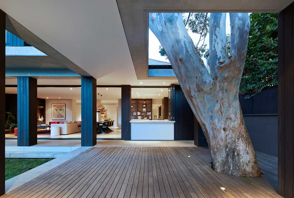 covered outdoor space design bea3 - Hopetoun Avenue Residence