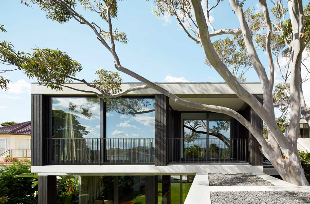 covered outdoor space design bea4 - Hopetoun Avenue Residence