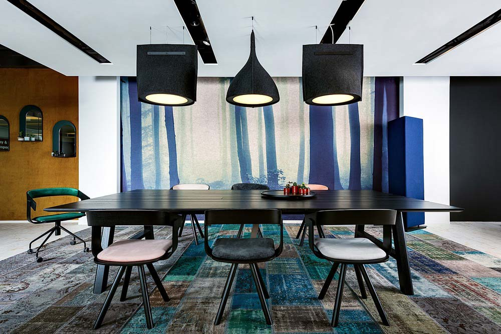 cowork lounge lighting design - CoWork Lounge by INFORM Contract and BuzziSpace