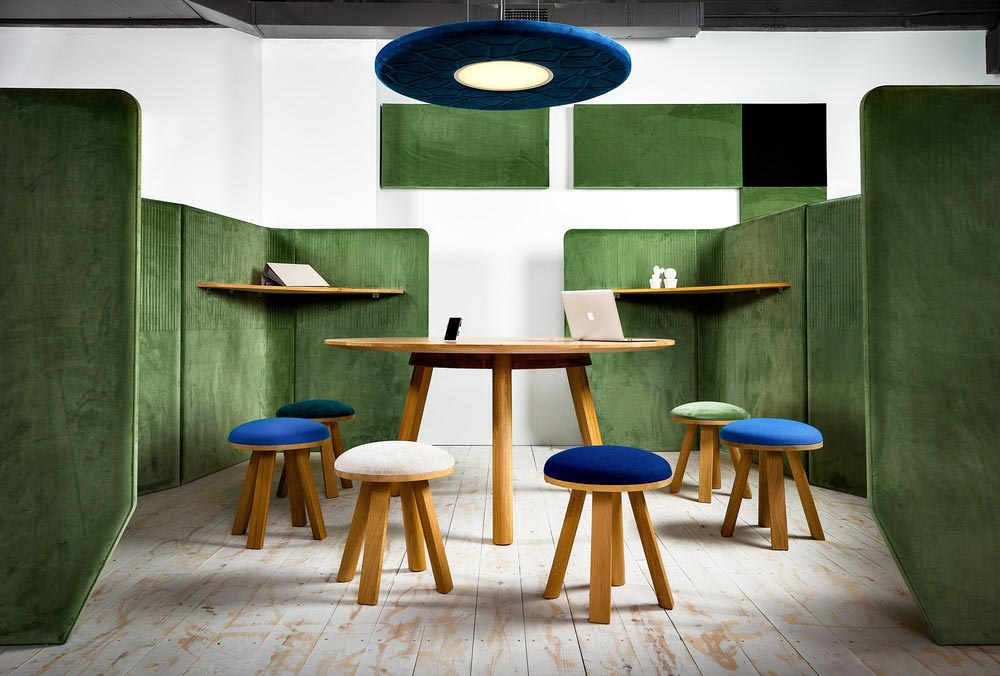 cowork lounge space design 2 - CoWork Lounge by INFORM Contract and BuzziSpace