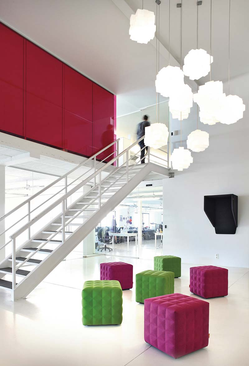 cowork lounge space design 4 - CoWork Lounge by INFORM Contract and BuzziSpace