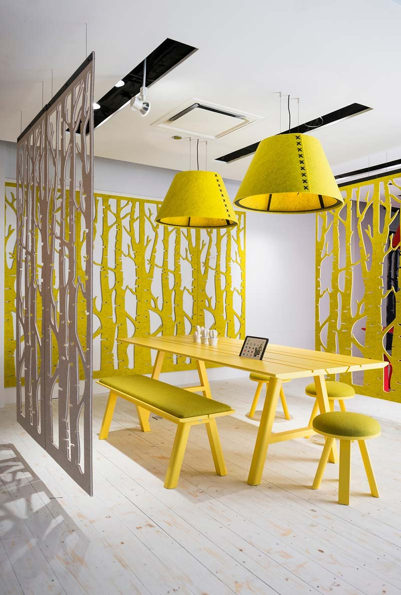 cowork lounge space dividers design - CoWork Lounge by INFORM Contract and BuzziSpace
