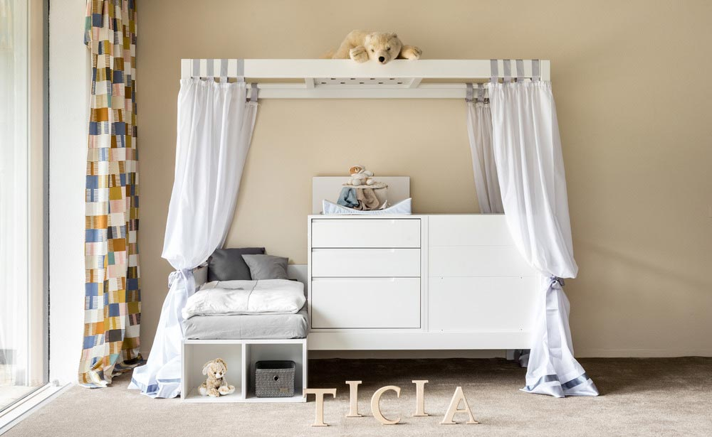 cradle baby bed in one - TICIA The Growing Bed