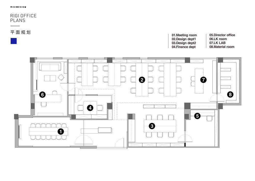 Creative Studio Office Design Plan