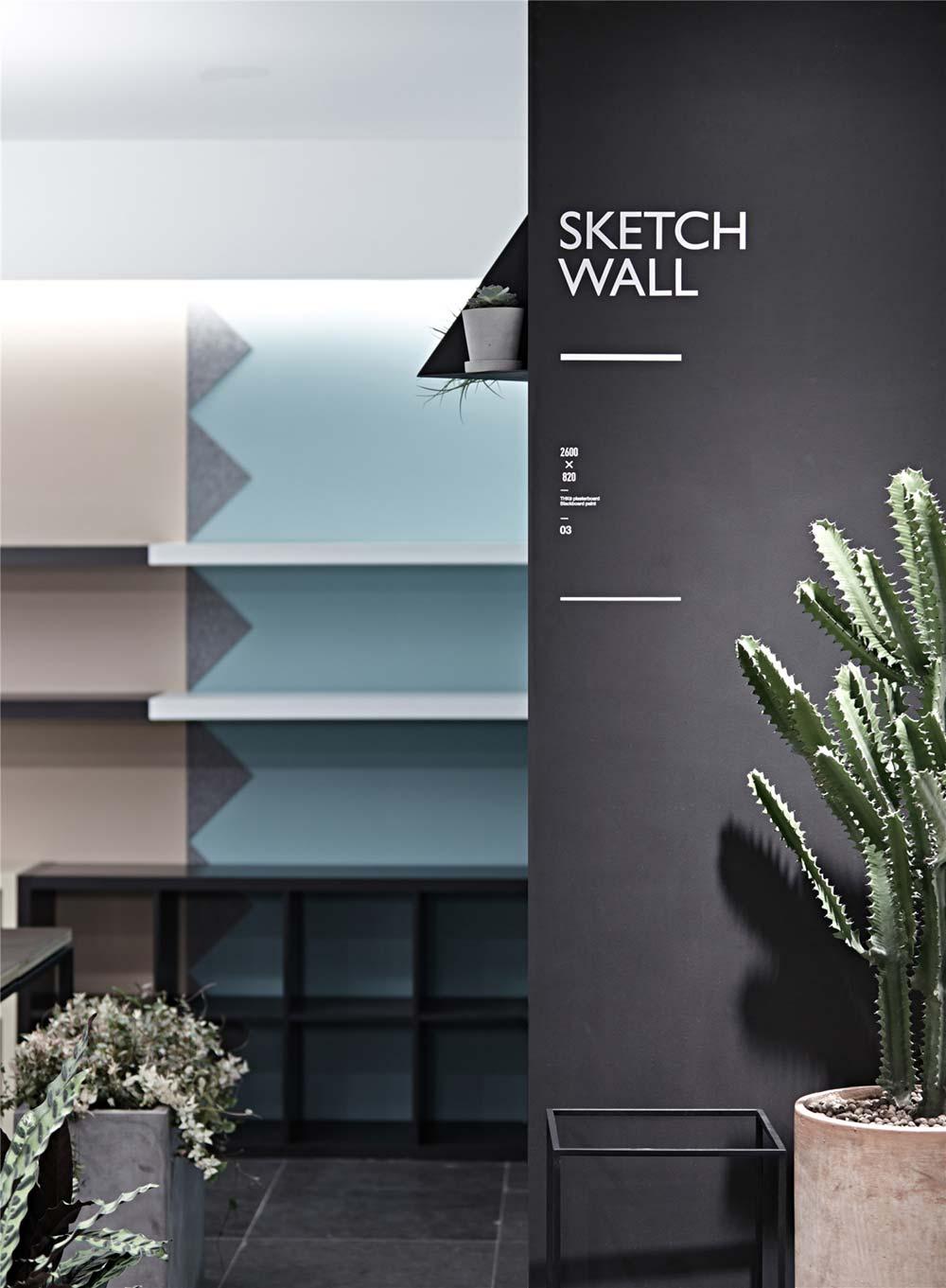 Creative Studio Wall Design