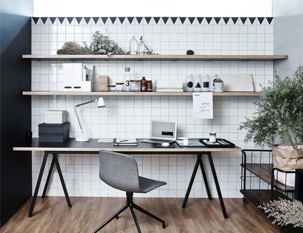 Minimal Office Work Desk