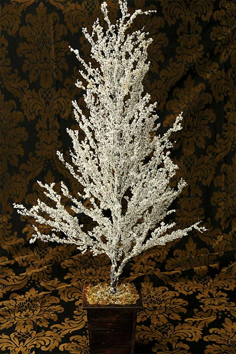 crystal ice tree a dazzling centerpiece for christmas - Crystal Christmas Tree