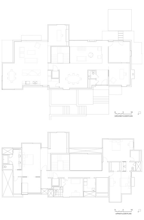 cube house plan naci - NaCI Residence: Passionate Architecture