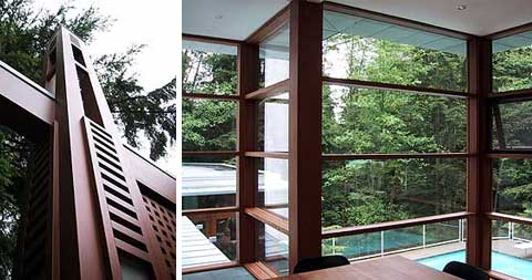 Cullens House From Twilight twilight - the cullen house - modern architecture