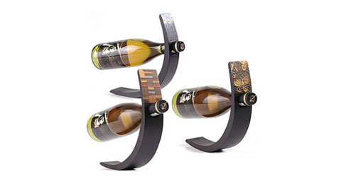 Decorative Wine Bottle Holders Unique Wine Arc Bottle Holders  Wine & Bar Decorating Inspiration