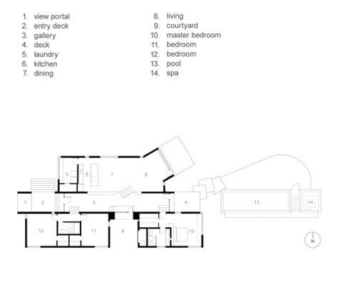 Garcia residence a modern desert home modern architecture for Desert house plans