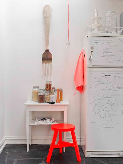 design tip color pink 5 - In The Pink: A House Tour