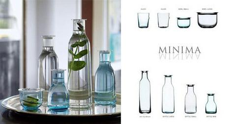 designer glassware minima 2 - Minima Designer Glassware