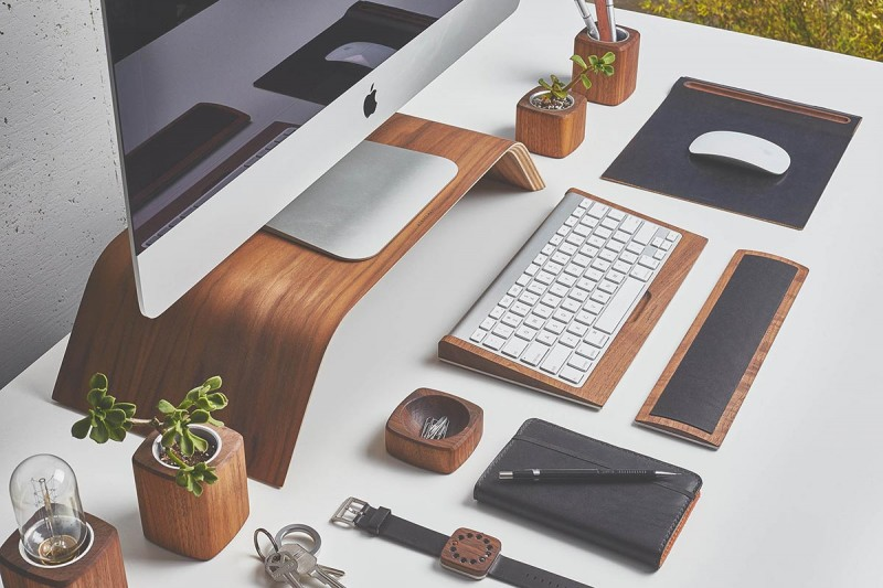 desk accessories grovemade 800x533 - Desk Collection